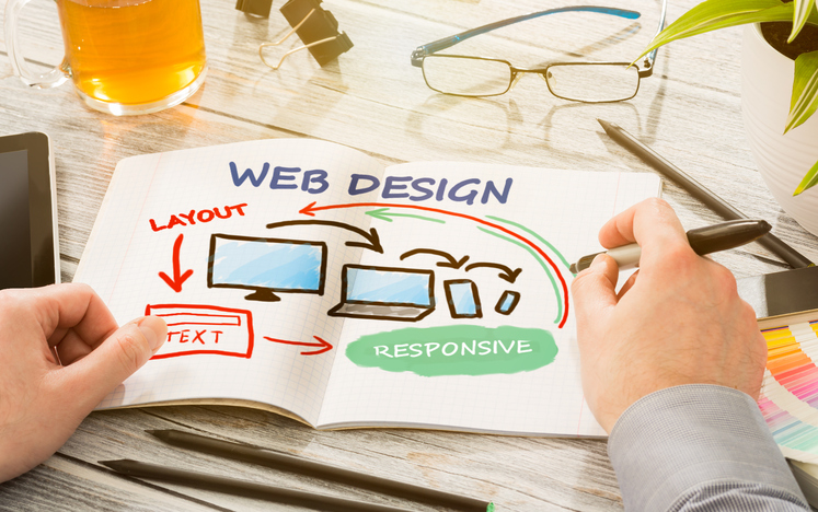 website design art