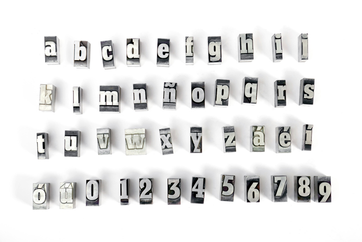 fonts of the alphabet