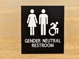 A production worker in a manufacturing facility requested to use the restroom corresponding with the gender with which they identified.