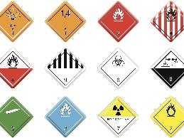 A federal employee who needed to work around hazardous materials needed to identify hazardous materials by means of color coded labels.