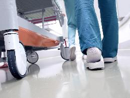 A nurse in an extended care facility asked for the accommodations of no overtime, as well as being relieved of duties that require her to work on the floor.