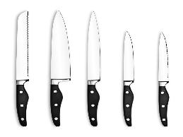 A butcher with carpal tunnel syndrome had limitations in grasping and handling tools and other objects, especially various sizes of knives.