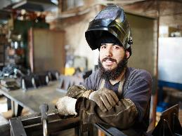 A welder with a seizure disorder recently had a seizure at work.