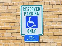 An employee with sarcoidosis has voiced concerns with the employer controlled parking lot where employees are allowed to park.