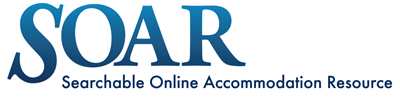 SOAR: Searchable Online Accommodation Resource
